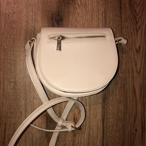 Cream crossbody